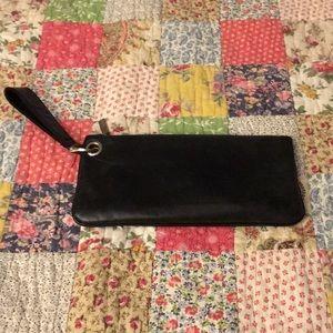 Hobo purse wristlet black 11 X 5 large size